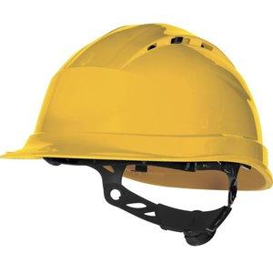 Delta Plus - your safety at work Delta Plus QUARTZUP4 Bouwhelm - werfhelm - geventileerd -  geel - 0