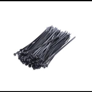 Dulimex Dulimex Kabelbinders - tyraps 2,5x200 mm - nylon 6.6 - zwart - 89200-25