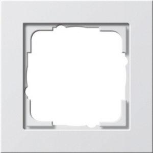 Gira Gira 021129 Afdekraam 1-voudig - E2 - zuiver wit glans