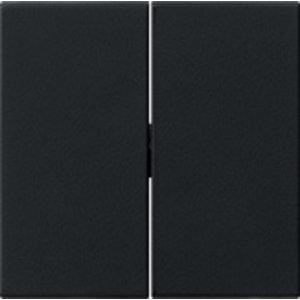 Gira Gira 0295005 Schakelwip 2-voudig - standaard 55 - zwart mat