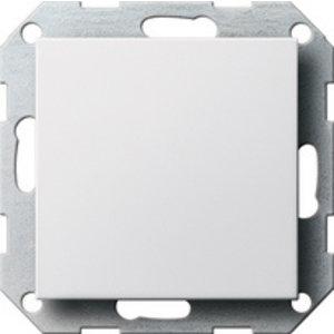 Gira Gira 026803 Blindplaat met draagframe - systeem 55 - zuiver wit glanzend