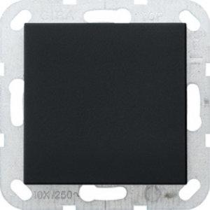 Gira Gira 0268005 Blindplaat met draagframe - systeem 55 - zwart mat