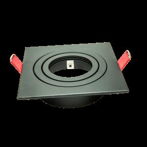 Tronix Tronix 148-583 Inbouwspot vierkant - kantelbaar - zwart