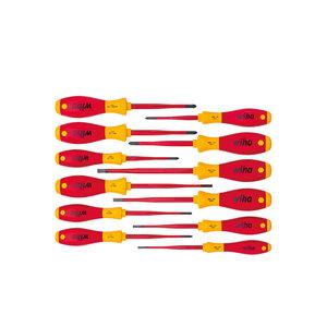 Wiha Wiha 3201K12 Schroevendraaierset SoftFinish electric slimFIX - assortiment - 12-Delig - 41003