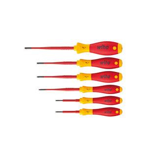 Wiha Wiha 3251 K6 Schroevendraaierset SoftFinish electric slimFIX Torx - 6-Delig - 41245