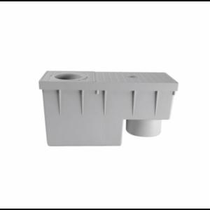 Redi Redi Regenwaterbufferput - ontlastput - afvoerput - 380x156 mm - PP Kunststof - Ø110  mm