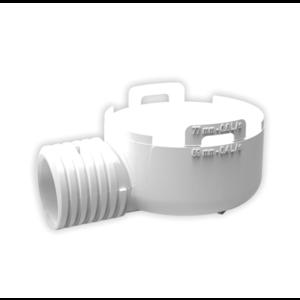 Nicoll Nicoll PVC Adapter voor douchesifon - horizontale uitlaat  - Ø40/50 mm
