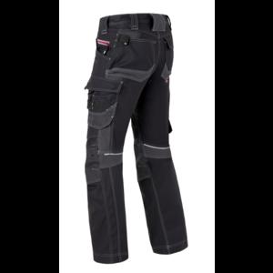 Havep workwear Havep 80229 Werkbroek Attitude - heren - Zwart/ Charcoal grijs - maat 46 t/m 58