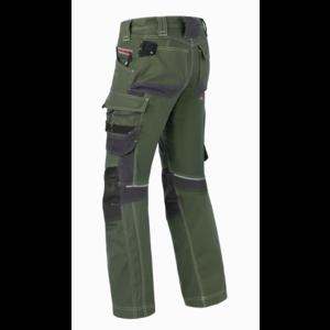 Havep workwear Havep 80229 Werkbroek Attitude - heren - bosbouw groen/ Charcoal grijs - maat 46 t/m 58