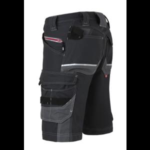 Havep workwear Havep 80241 Werkbroek bermuda Attitude - heren - zwart / charcoal grijs - maat 46 t/m 58
