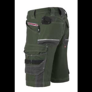 Havep workwear Havep 80241 Werkbroek bermuda Attitude - heren - bosbouw groen / charcoal grijs - maat 46 t/m 58