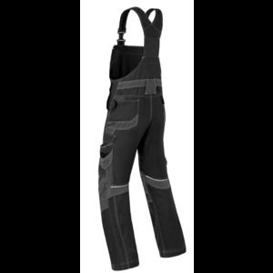 Havep workwear Havep 20195 Amerikaanse overall / bretelbroek - heren - zwart/ charcoal grijs - maat 46 t/m 58