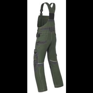 Havep workwear Havep 20195 Amerikaanse overall / bretelbroek - heren - bosbouw groen/ charcoal grijs - maat 46 t/m 58