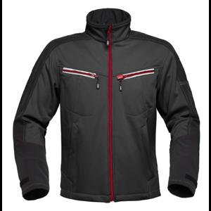 Havep workwear Havep 40145 Softshell Jas - heren - zwart/ charcoal grijs - maat M t/m XXL