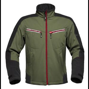 Havep workwear Havep 40145 Softshell Jas - heren - bosbouw groen / charcoal grijs - maat M t/m XXL