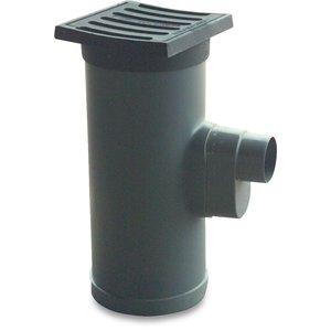 bosta bevo PVC-U Straatkolk compleet met gietijzeren deksel - KOMO - Ø315x125 mm - klasse Y