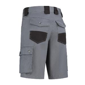 Bestex Bestex BK6040 Werkbroek bermuda - heren - zwart/ grijs - maat 46 t/m 60