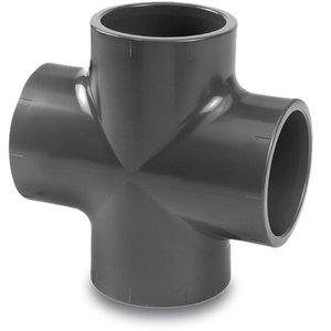 VDL VDL PVC Kruisstuk druk Ø32 t/m Ø75 mm - 16 bar