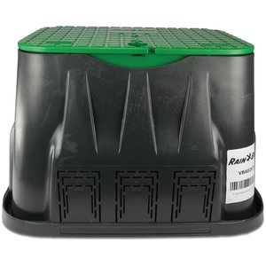 RainBird RainBird VBA-02674 Hydrantput 550x370x305 mm - PP - zwart/ groen