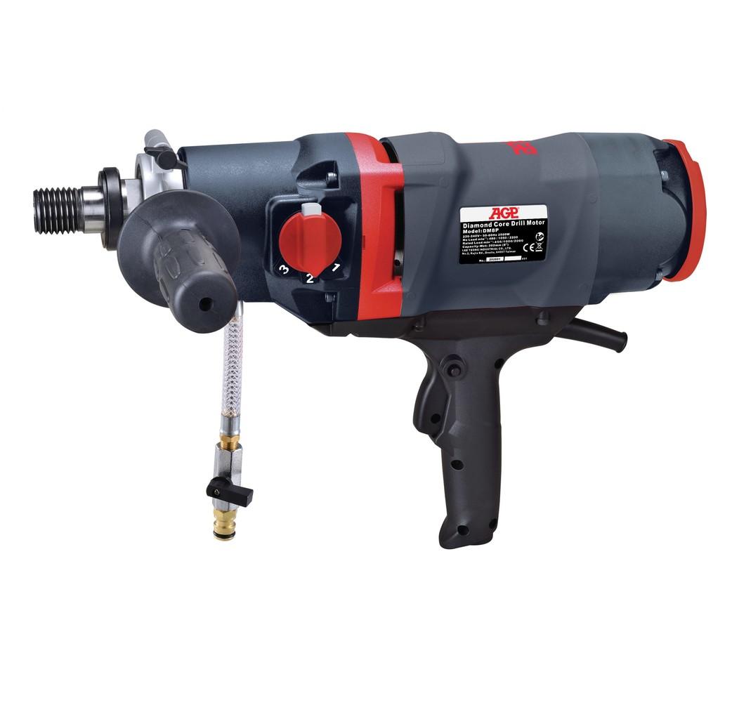 """AGP AGP DM8P Boormotor (nat) - 2500W - 1 1/4"""" UNC (M) + 1/2"""" BSP (F)"""