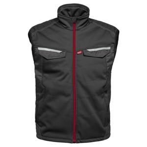 Havep workwear Havep 50184 Softshell bodywarmer - heren - zwart/ charcoal grijs - maat M t/m XXL
