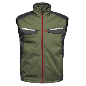 Havep workwear Havep 50184 Softshell bodywarmer - heren - bosbouw groen/ charcoal grijs - maat M t/m XXL