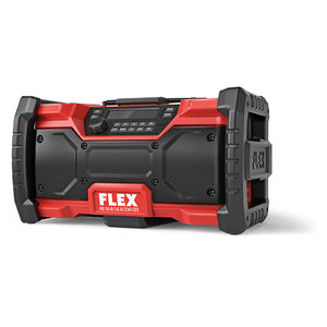 Flex powertools Flex RD 10.8/18/0/230 Bouwradio - 18V/230V - DAB+, Bluetooth - 484.857