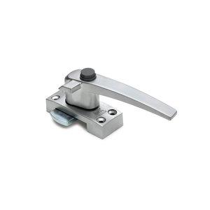 Dulimex Dulimex Raamboompje drukknop  met nok - F1 aluminium