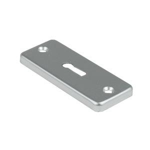 Ami deurbeslag Ami Afdekrozet sleutelgat tbv kastslot - geperst aluminium - RZ SLG AF