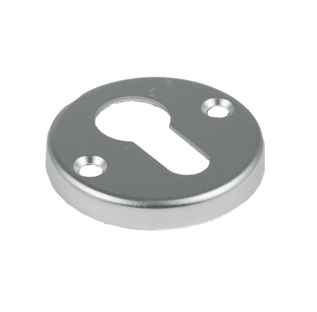Ami deurbeslag Ami Afdekrozet profielcilinder tbv kastslot - geperst aluminium - RZ RO PC AF