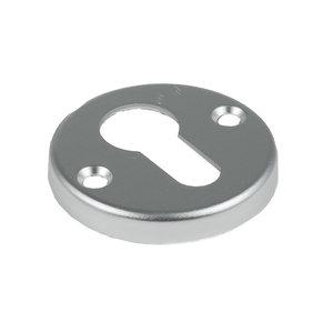 Ami deurbeslag Ami Afdekrozet profielcilinder tbv kastslot - geperst aluminium - RZ RO PC AF - 0