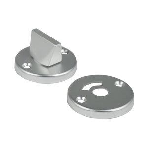 Ami deurbeslag Ami Afdekrozet tbv WC badkamerslot - geperst aluminium - RZ RO WC AF