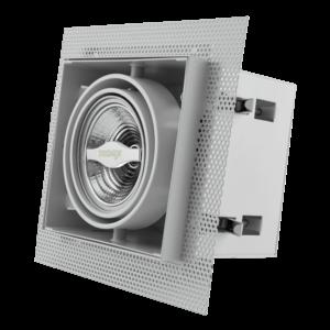Tronix Tronix AR70 Trimless dimbare inbouwspot met lamp - wit - 148-051
