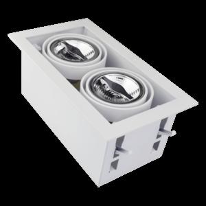 Tronix Tronix AR70 Trimless dimbare inbouwspot met lamp - wit - 148-053