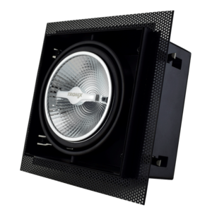 Tronix Tronix AR111 Trimless dimbare inbouwspot met lamp - zwart - 148-043