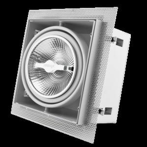 Tronix Tronix AR111 Trimless dimbare inbouwspot met lamp - wit - 148-044