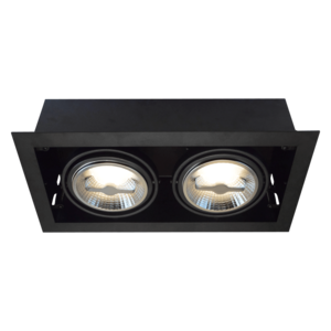 Tronix Tronix AR111 Trimless dimbare inbouwspot met lamp - zwart - 148-045