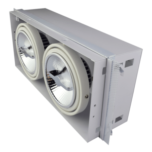 Tronix Tronix AR111 Trimless dimbare inbouwspot met lamp - wit - 148-046