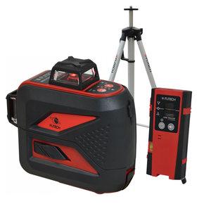 Futech Futech kruislijnlaser MCD Compact - rood - + statief & handontvanger - 030.03D-P