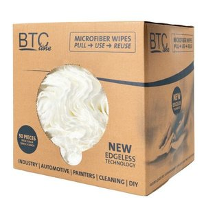 BTC BTC line Microfiber wipes - box á 50 stuks - 3000023