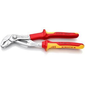 Knipex Knipex Cobra® Waterpomptang VDE - 250 mm - 1000V - gepolijste kop - 87 26 250