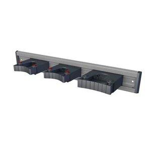 Toolflex Toolflex Aluminium wandstrip met 3 gereedschaphouder - 50 cm