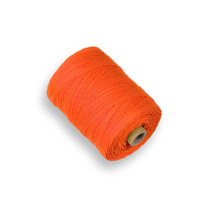 Labora Labora Uitzetkoord nylon - 200 meter x 1,5 mm - flour oranje - 961015