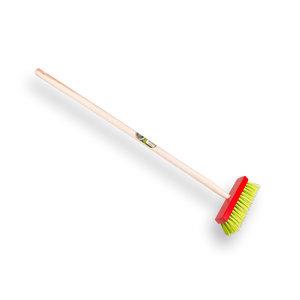 Kinderbezem PPN rood met 75 cm essen steel - 1470750