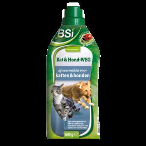 Bsi BSI Kat & hond-weg - afweermiddel - strooikorrels - 600 gram - 50628