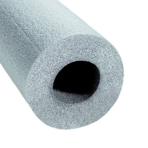NMC Buisisolatie Ø12-15 mm - Polyethyleen - wanddikte 13 mm - lengte 100 cm - grijs