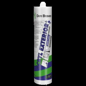 Zwaluw Den braven Zwaluw Acryl exterior+ acrylaatkit - wit - 310 ml