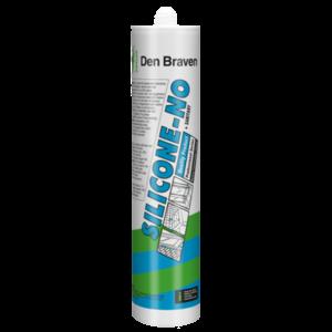 Zwaluw Den braven Zwaluw Siliconen-no + sanitary siliconenkit - transparant grijs - 310 ml