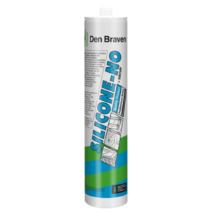 Zwaluw Den braven Zwaluw Siliconen-no + sanitary siliconenkit - zilvergrijs - 310 ml