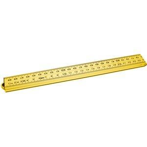 HEVU TOOLS HEVU duimstok 1 meter - kunststof - geel
